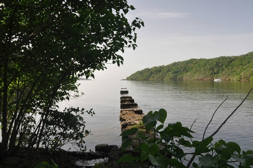 Old jetty on Monos (Photo: Jeffrey Wong Sang)